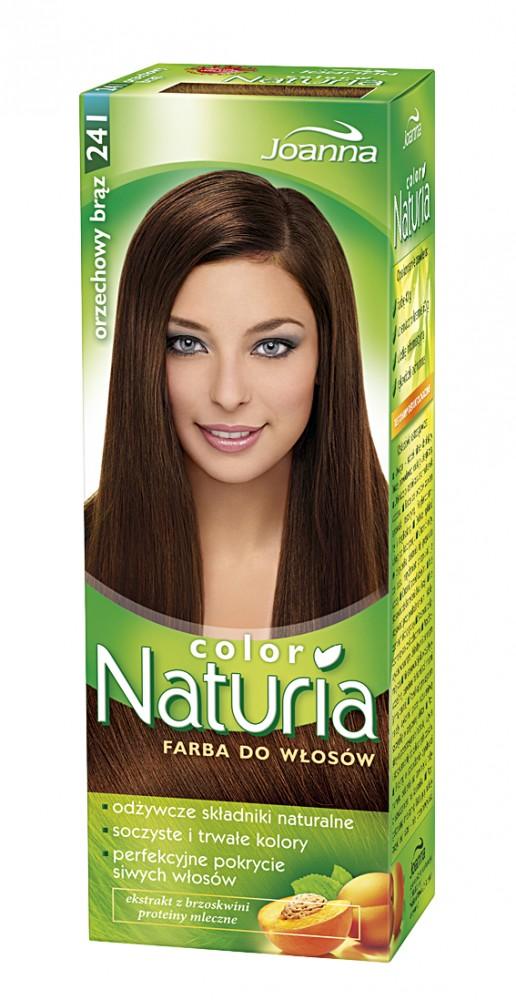 naturia haarfarbe haselnussbraun 241 100g von joanna polnische kosmetik drogerieprodukte. Black Bedroom Furniture Sets. Home Design Ideas